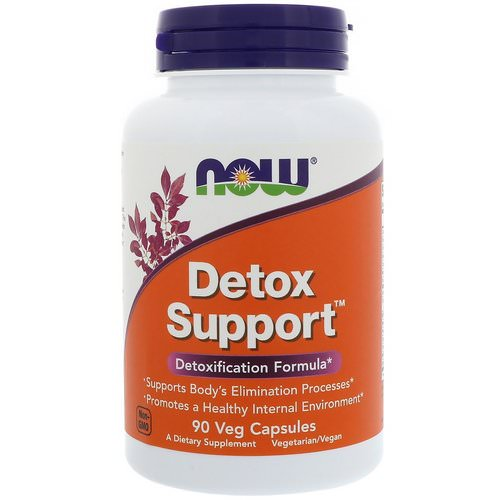Now Foods, Detox Support, 90 Veg Capsules Review