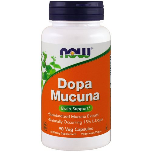 Now Foods, Dopa Mucuna, 90 Veg Capsules Review