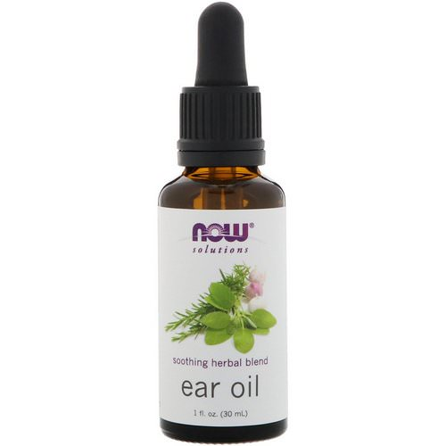 Now Foods, Ear Oil, 1 fl oz (30 ml) Review