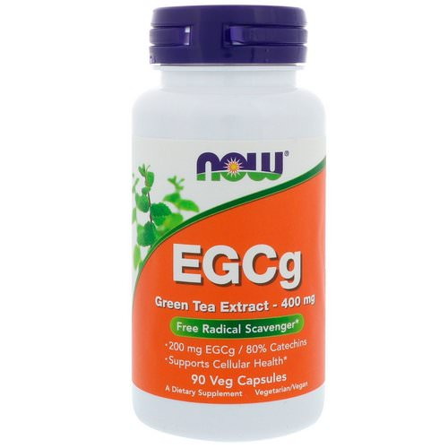 Now Foods, EGCg, Green Tea Extract, 400 mg, 90 Veg Capsules Review