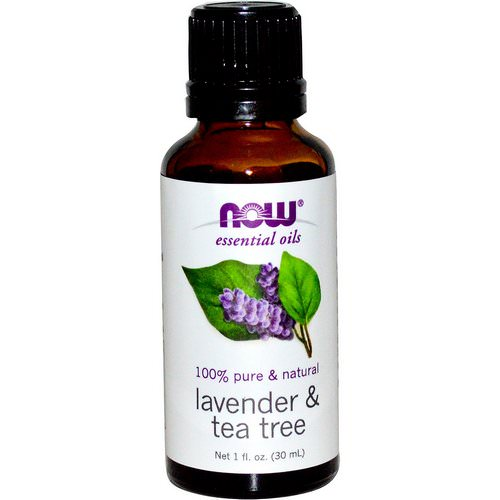 Now Foods, Essential Oils, Lavender & Tea Tree, 1 fl oz (30 ml) Review