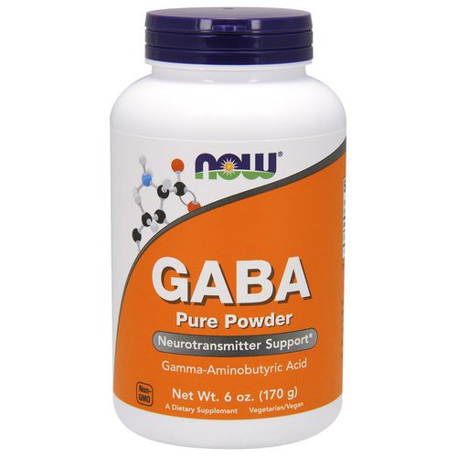 Now Foods, GABA, Pure Powder, 6 oz (170 g) Review