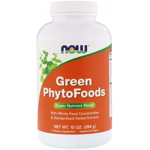 Now Foods, Green Phytofoods, 10 oz (284 g) Review