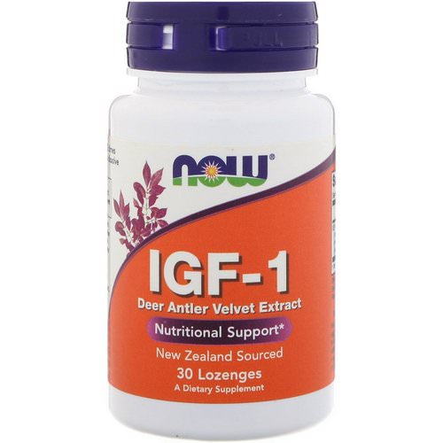 Now Foods, IGF-1, 30 Lozenges Review