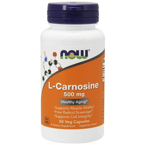 Now Foods, L-Carnosine, 500 mg, 50 Veg Capsules Review
