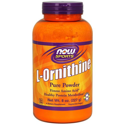 Now Foods, L-Ornithine Pure Powder, 8 oz (227 g) Review