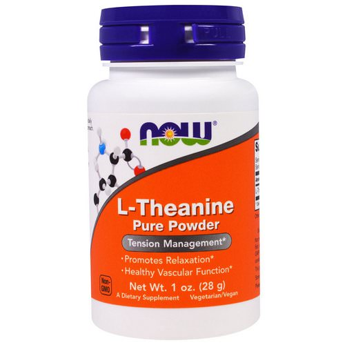 Now Foods, L-Theanine, Pure Powder, 1 oz (28 g) Review