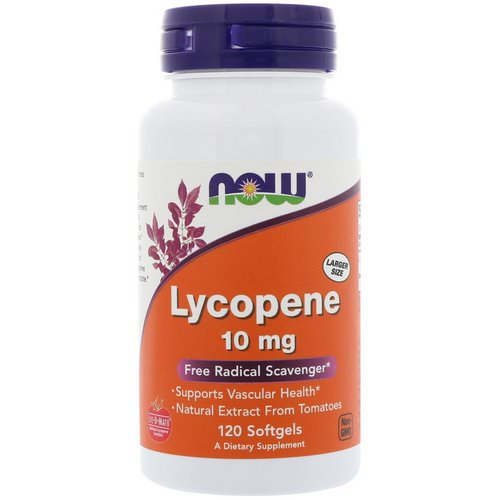 Now Foods, Lycopene, 10 mg, 120 Softgels Review