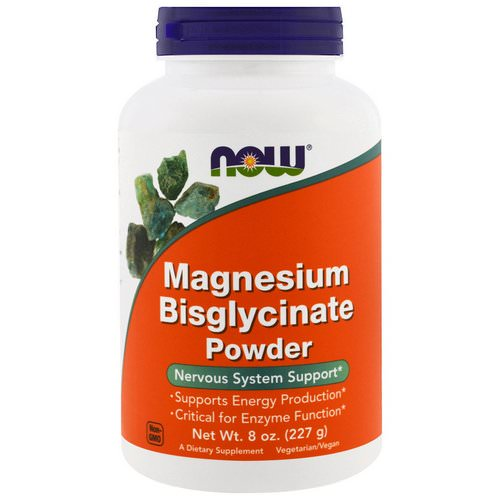 Now Foods, Magnesium Bisglycinate Powder, 8 oz (227 g) Review