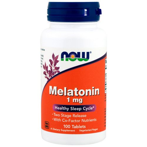 Now Foods, Melatonin, 1 mg, 100 Tablets Review