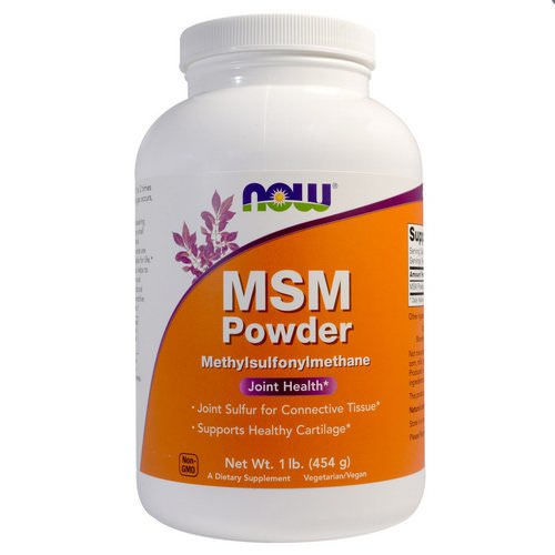 Now Foods, MSM Powder, 1 lb (454 g) Review