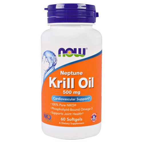 Now Foods, Neptune Krill Oil, 500 mg, 60 Softgels Review