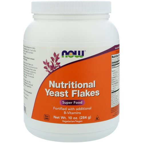 Now Foods, Nutritional Yeast Flakes, 10 oz (284 g) Review