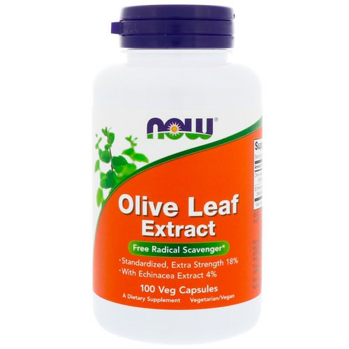 Now Foods, Olive Leaf Extract, 100 Veg Capsules Review