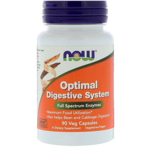 Now Foods, Optimal Digestive System, 90 Veg Capsules Review