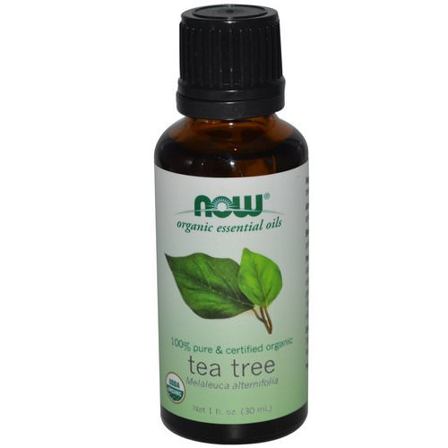 Now Foods, Organic Essential Oils, Tea Tree, 1 fl oz (30 ml) Review