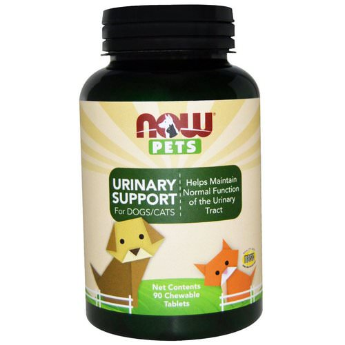 Now Foods, Pets, Urinary Support, For Dogs/Cats, 90 Chewable Tablets Review