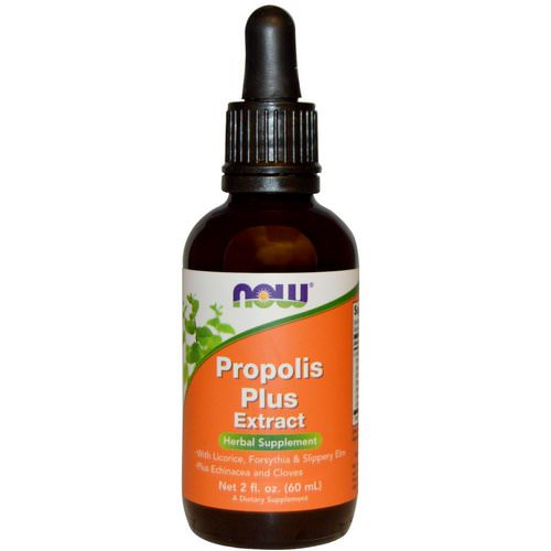 Now Foods, Propolis Plus Extract, 2 fl oz (60 ml) Review