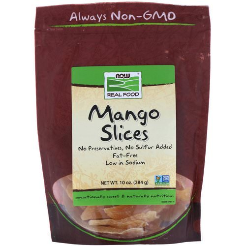 Now Foods, Real Food, Mango Slices, 10 oz (284 g) Review