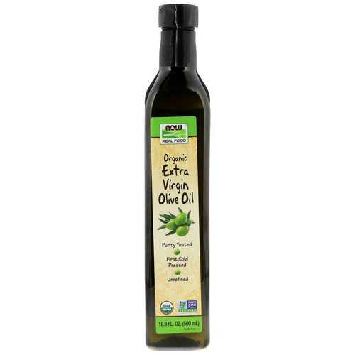 Now Foods, Real Food, Organic Extra Virgin Olive Oil, 16.9 fl oz (500 ml) Review