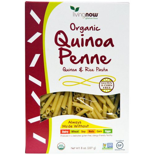 Now Foods, Real Food, Organic Quinoa Penne, Quinoa & Rice Pasta, 8 oz (227 g) Review