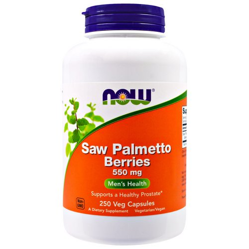 Now Foods, Saw Palmetto Berries, 550 mg, 250 Veg Capsules Review