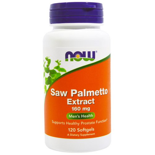 Now Foods, Saw Palmetto Extract, 160 mg, 120 Softgels Review