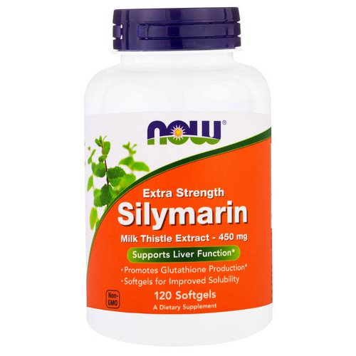 Now Foods, Silymarin, Extra Strength, 120 Softgels Review
