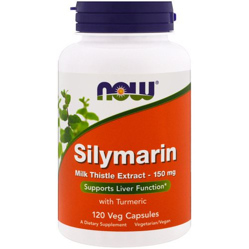 Now Foods, Silymarin, Milk Thistle Extract, 150 mg, 120 Veg Capsules Review