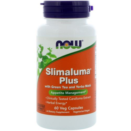 Now Foods, Slimaluma Plus, 60 Veg Capsules Review