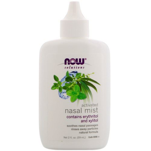 Now Foods, Solutions, Activated Nasal Mist, 2 fl oz (59 ml) Review