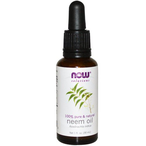 Now Foods, Solutions, Neem Oil, 1 fl oz (30 ml) Review