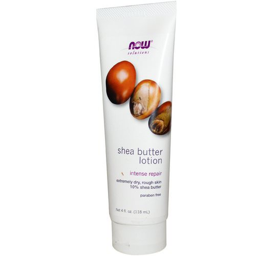 Now Foods, Solutions, Shea Butter Lotion, 4 fl oz (118 ml) Review