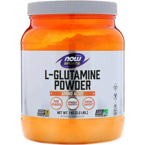 Now Foods, Sports, L-Glutamine Powder, 2.2 lbs (1 kg) Review