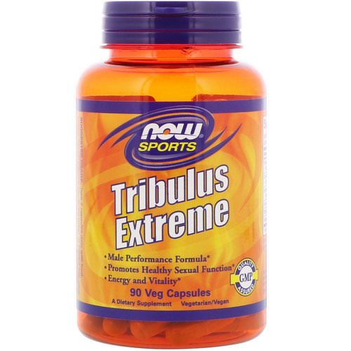 Now Foods, Sports, Tribulus Extreme, 90 Veg Capsules Review