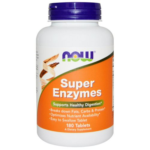 Now Foods, Super Enzymes, 180 Tablets Review