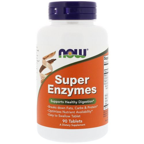 Now Foods, Super Enzymes, 90 Tablets Review