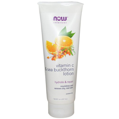 Now Foods, Vitamin C & Sea Buckthorn Lotion, 8 fl oz (237 ml) Review