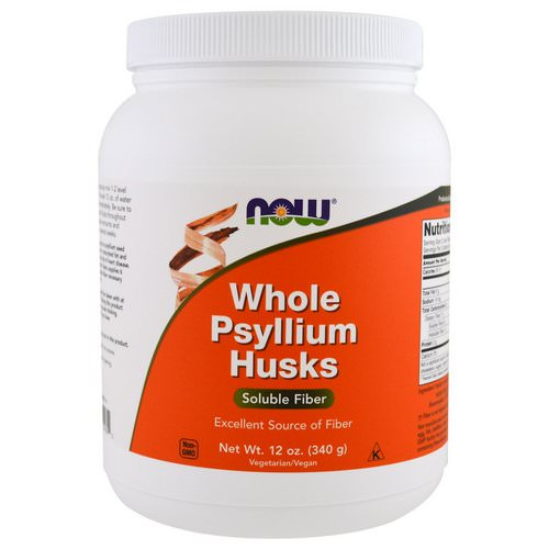 Now Foods, Whole Psyllium Husks, 12 oz (340 g) Review