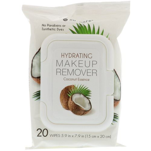 Nu-Pore, Hydrating Makeup Remover, Coconut Essence, 20 Wipes Review