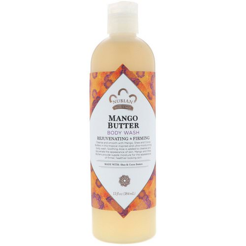 Nubian Heritage, Body Wash, Mango Butter, 13 fl oz (384 ml) Review
