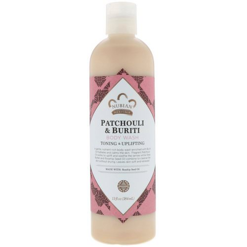 Nubian Heritage, Body Wash, Patchouli & Buriti, 13 fl oz (384 ml) Review