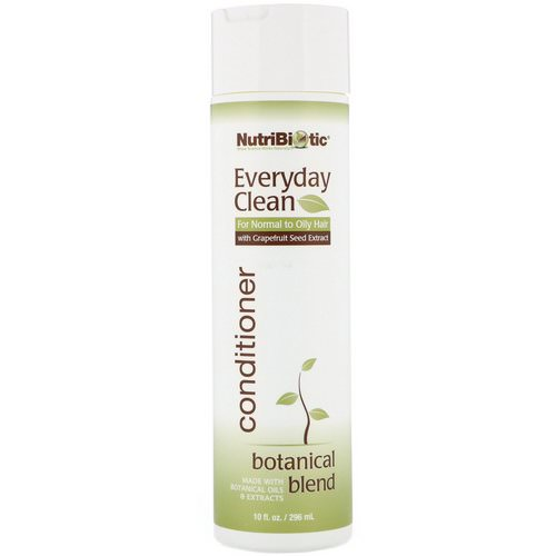 NutriBiotic, Everyday Clean, Conditioner, Botanical Blend, 10 fl oz (296 ml) Review