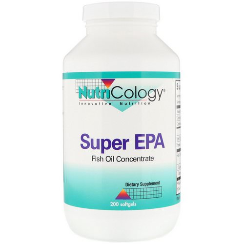 Nutricology, Super EPA, Fish Oil Concentrate, 200 Softgels Review