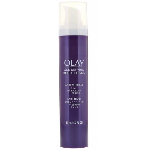 Olay, Age Defying, Anti-Wrinkle, 2-in-1 Day Cream + Serum, 1.7 fl oz (50 ml) Review