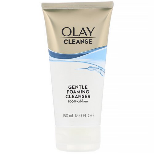 Olay, Gentle Foaming Cleanser, 5 fl oz (150 ml) Review