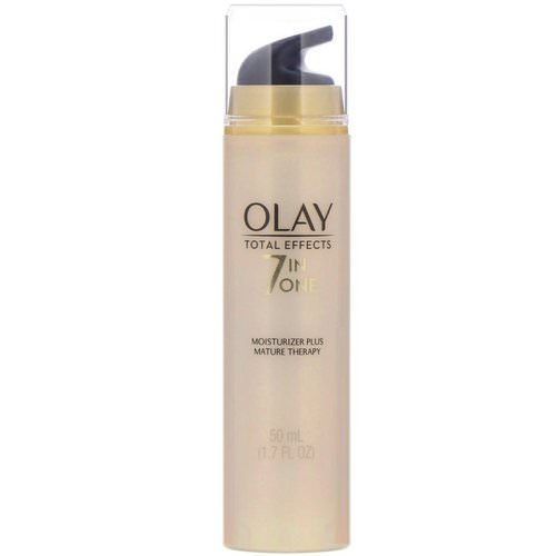 Olay, Total Effects, 7-in-One Moisturizer Plus Mature Therapy, 1.7 fl oz (50 ml) Review