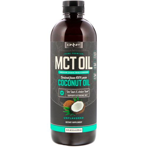 Onnit, MCT Oil, Unflavored, 24 fl oz (709 ml) Review