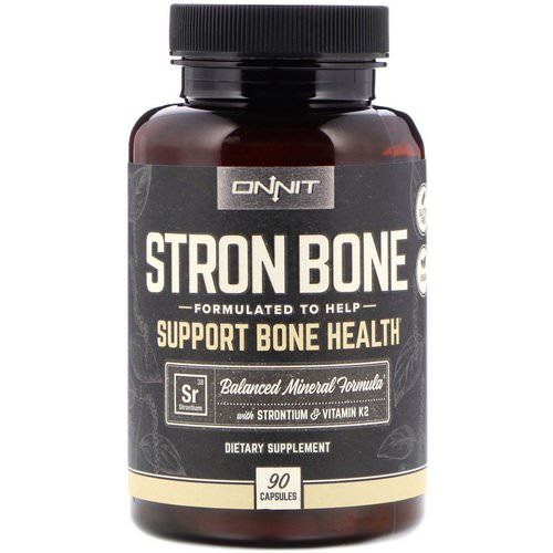 Onnit, Stron Bone, 90 Capsules Review