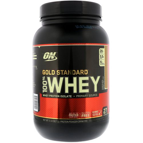 Optimum Nutrition, Gold Standard, 100% Whey, Chocolate Peanut Butter, 2 lbs (907 g) Review